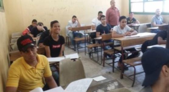 التعليم تعلن عدة تنبيهات لمواجهة ارتفاع درجة الحرارة داخل لجان الامتحانات 45112