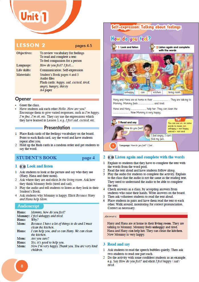دليل المعلم في اللغة الانجليزية للصف الثالث الابتدائي منهج  Connect الجديد 2021 478