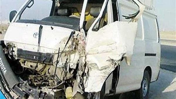 إصابة 7 طلاب ثانوي في حادث تصادم بالشرقية 48812