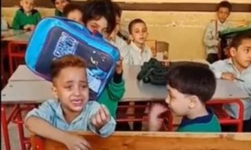"""تعليقاً على واقعة التلميذ الباكي.. دار الافتاء """"ليس منا من لم يرحم صغيرنا"""" .. و القومي للطفولة """"تصوير الطفل مخالف للقانون"""" 5168"""