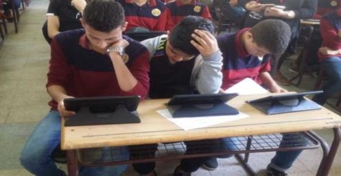 السيستم يسقط في امتحان عربي أولى ثانوي في معظم المحافظات  54140
