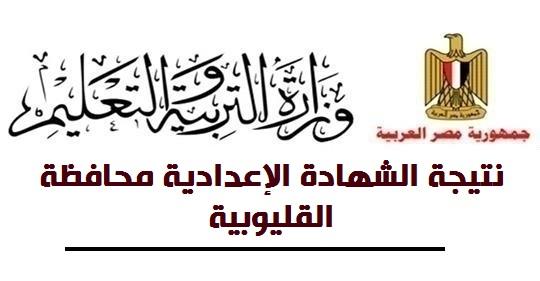 نتيجة الشهادة الإعدادية محافظة القليوبية 544134