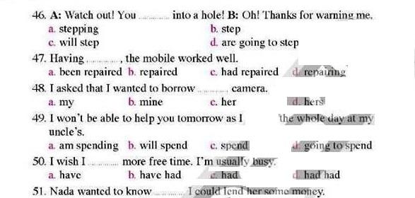 مراجعة اللغة الانجليزية اولى ثانوى ترم ثاني من المعاصر 54444
