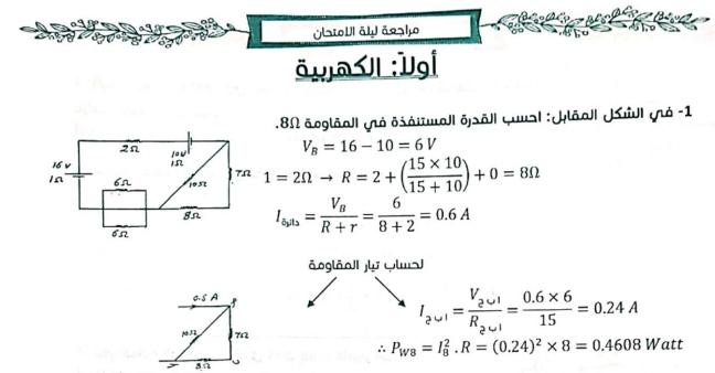 ملخص شامل لجميع أجزاء الفيزياء للثانوية العامة أ/ محمد عبد المعبود 54467
