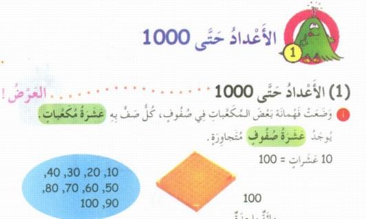 كتاب الرياضيات للصف الثانى الابتدائى ترم أول 2020 55154