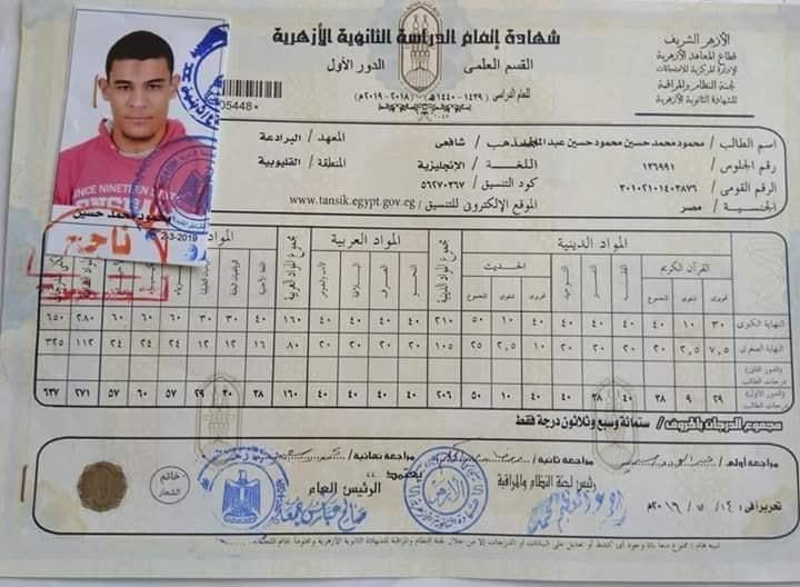 مصرع الطالب الأول على الثانوية الأزهرية بالقليوبية غرقا فى فايد 55415