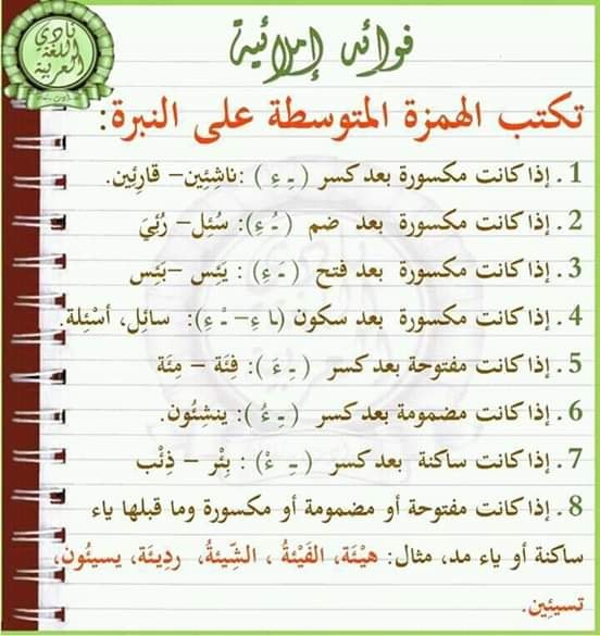 فوائد إملائية أ/ محمد صلاح 5841