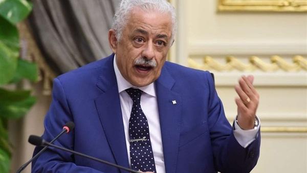 """وزير التعليم يحسم الجدل: الإجابة يجب أن تتم على الـ """"بابل شيت"""" ثم رصد الإجابات على التابلت 6061021"""