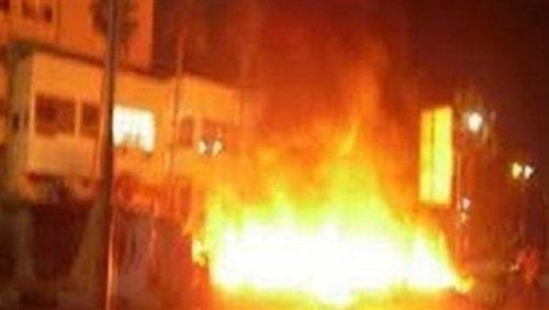 طلاب بأولى ثانوي يشعلون النيران في مدرسة بقنا 61213