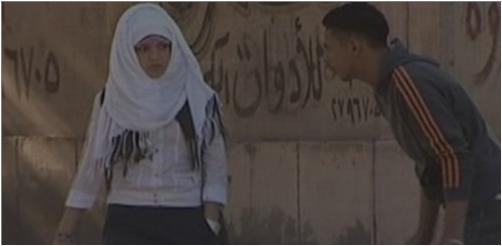 بلطجي يعتدي على طالبات المدرسة الثانوية الفنية ببني سويف 6366