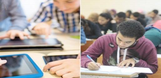 بدون إنترنت.. التعليم: امتحانات أولى ثانوي إلكترونية والبديل الورقي جاهز 6461