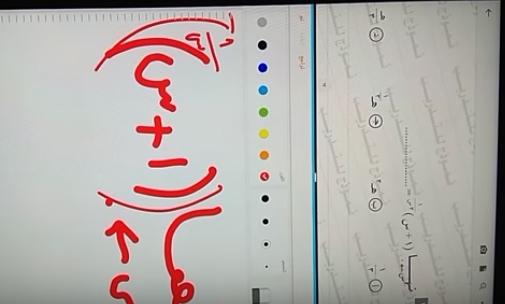 لطلاب أولى ثانوي.. شرح تقسيم شاشة التابلت الى شاشتين وفتح كتاب او مذكرة للكتابة عليها 65513