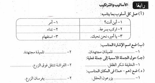 17 امتحان لغة عربية للصف الثاني الابتدائي لن يخرج عنها امتحان الترم الثانى 2019 66512