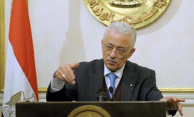 وزير التعليم يستعين بفتوى دار الإفتاء لمواجهة الغش في الامتحانات 6922