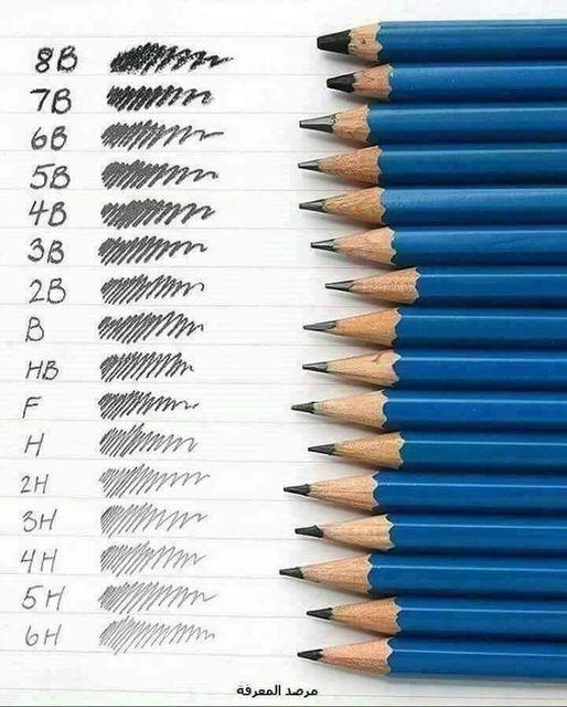 معلومات قيّمة عن أقلام الرصاص 6985