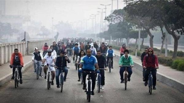 """""""دراجة لكل مواطن"""" مبادرة حكومية لتغيير ثقافة الانتقال اليومى للمواطنين وتحسين لياقتهم البدنية والصحية 75411"""