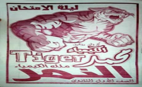 مراجعة ليلة امتحان الكيمياء على النظام الجديد بالاجابات للصف الاول الثانوي أ/ محمد النمر 7740