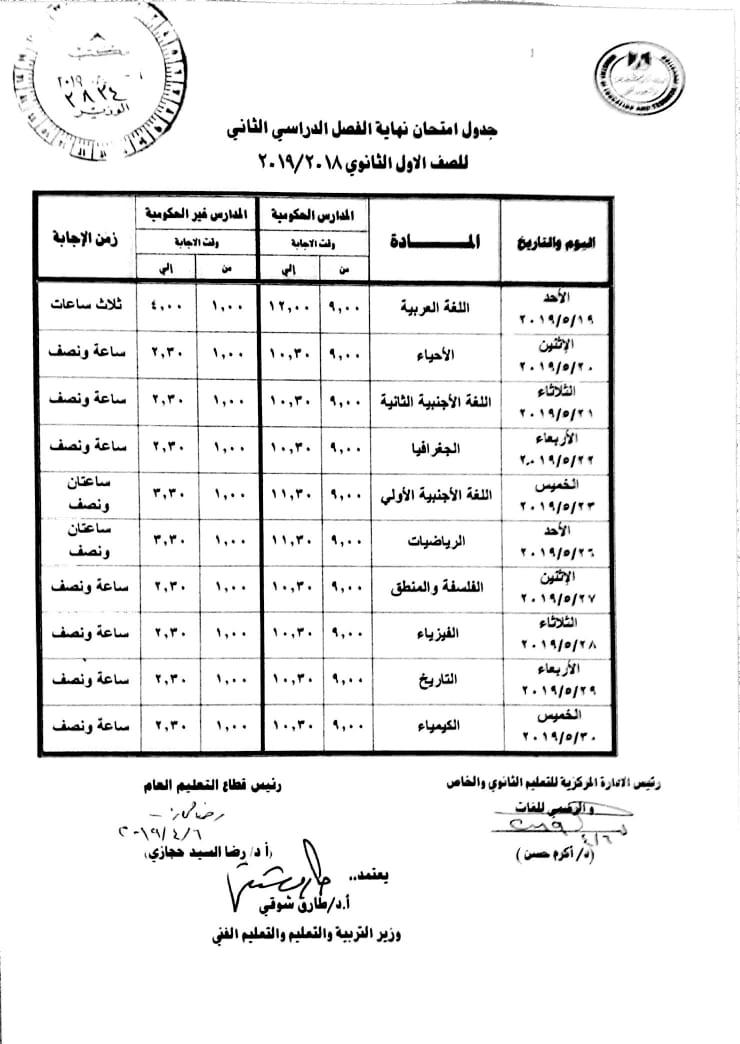 12 نصيحة مهمة لطلاب الصف الأول الثانوى قبل امتحان 19 مايو الالكترونى 83263-10