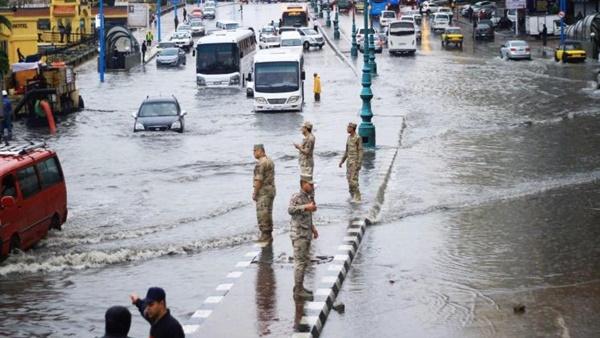 بالفيديو.. الأرصاد: مصر معرضة لسيول وأمطار غزيرة 83710