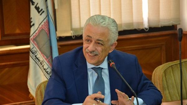 """وزير التعليم: منظومة الامتحانات الإلكترونية عبر أجهزة التابلت نجحت بـ """"امتياز"""" 85023"""