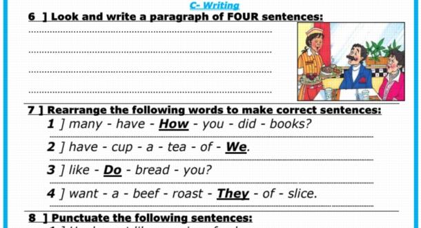 نماذج امتحانات لغة انجليزية جديدة للصف السادس الابتدائي ترم أول 2020 مستر/ رجب أحمد 8557