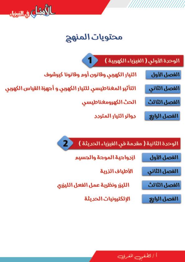 مذكرة الأمثل فى الفيزياء للصف الثالث الثانوي 2021 | نظام جديد مستر لطفى المغربى Aaa_ae10