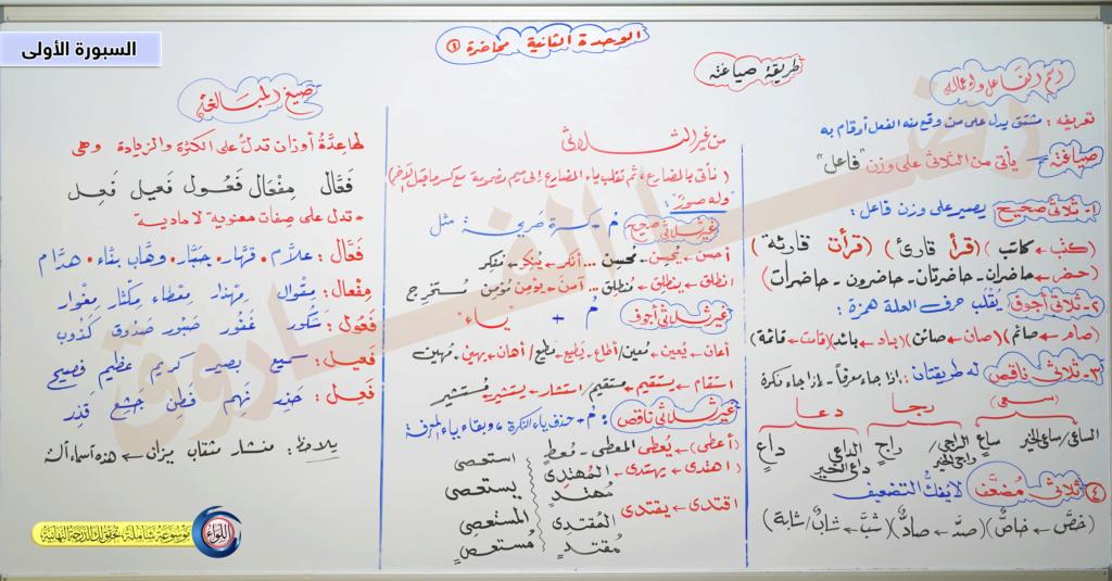 شرح لغة عربية الثانوية العامة نظام جديد - أ/ رضا الفاروق Aoio-a10