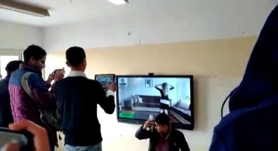 تحويل هيئة المدرسة بالكامل للتحقيق وفصل الطلاب 3 أيام.. رد التعليم على فيديو رقص مدرسة السادات D13f6110