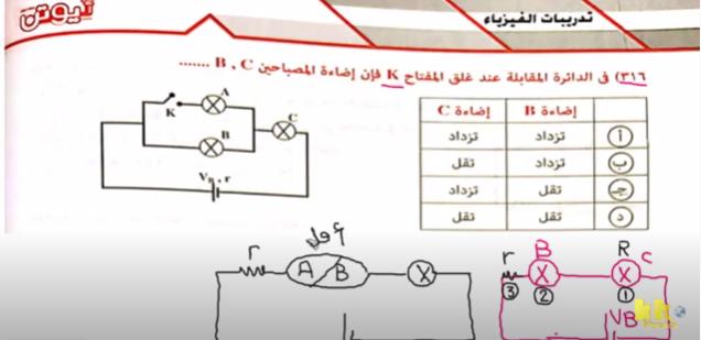 مراجعة فيزياء ثالثة ثانوي | حل تدريبات الفصل الاول شدة الاضاءة والقدرة فيديو Ee15