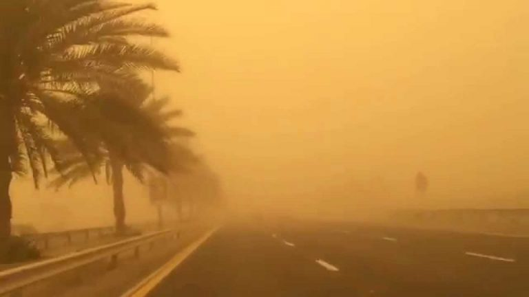تحذير عاجل من هيئة الأرصاد للمواطنين.. «غبار وانخفاض سطحي غدا ونزول كبير لدرجات الحرارة الخميس» Eooo-i10