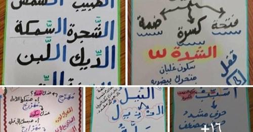 شيتات تأسيس أساليب لغة عربية للصفوف الاولى pdf   مس ولاء النجار Safe_139