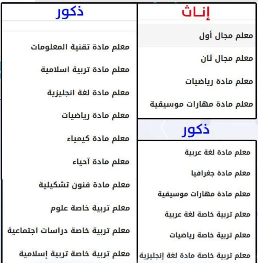 للمعلمين والمعلمات.. فتح التسجيل بإعارات وتعاقدات سلطنة عمان 2019 / 2020 الكترونياً - سجل الآن Screen32