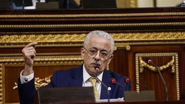 ماذا  قال  النواب للدكتور طارق شوقي  تعليقا  علي بيانه امام  البرلمان Tarek-10