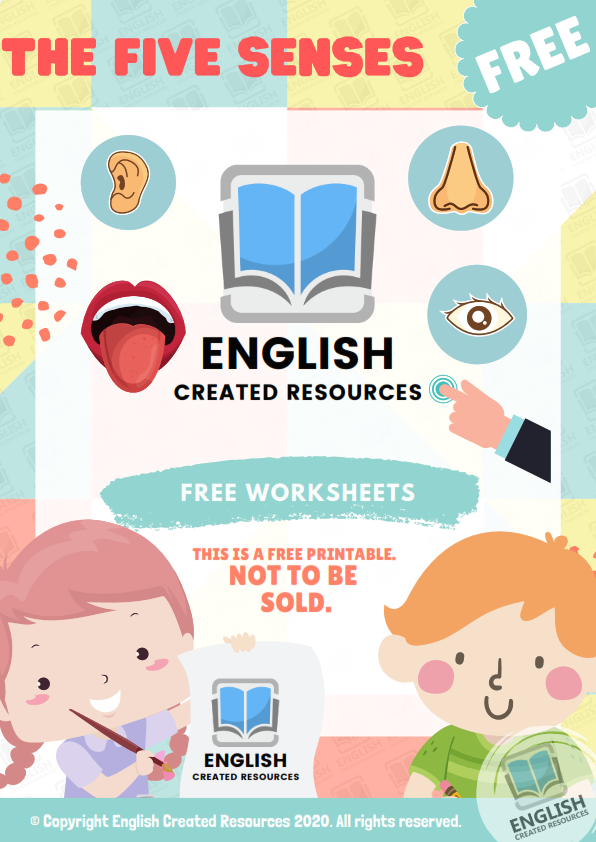 لغة انجليزية: ملف روعه عن الحواس الخمس ٨ صفحات جاهز للطباعه The_fi10