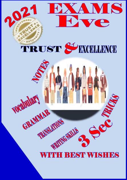 مراجعة اللغة الانجليزية للصف الثالث الثانوى .. كتاب Trust & Excellence Trust_10