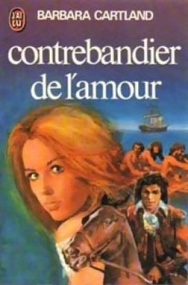 Contrebandier de l'amour de Barbara Cartland Contre10
