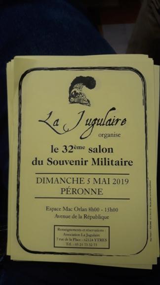 Bourse souvenir militaire le 5 mai 2019 20190410