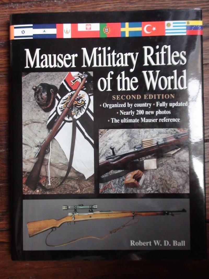 Vends livres sur le Mauser 98 + armes légères + titres Osprey + autres Dsc01013