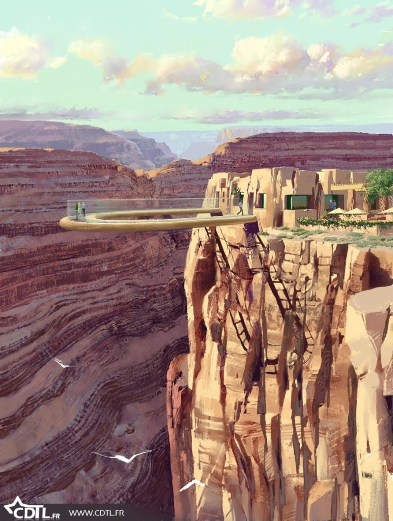 Grand canyon skywalk, Arizona - Etats-Unis Grand-10