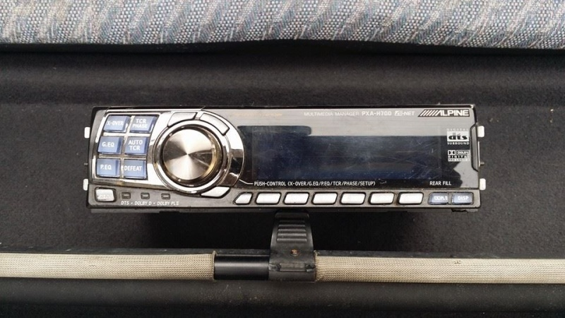 Alpine PXA-H700 Controller/Display RM300.00 10593110