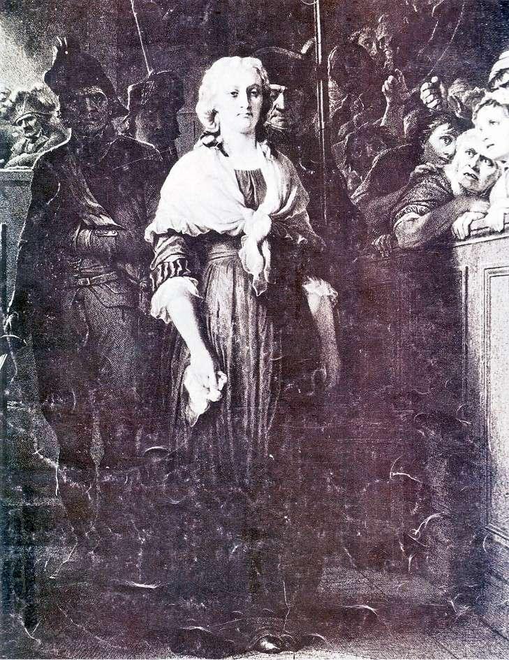Marie-Antoinette par Delaroche Maproc10