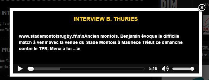 J10 Tarbes / Mont-de-Marsan dimanche à 15h Lecteu10