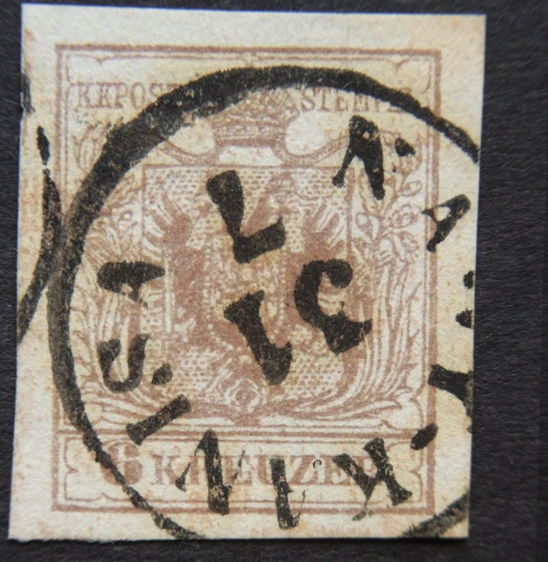 Die erste Österreichische Ausgabe 1850 - Seite 5 Ank4-m11