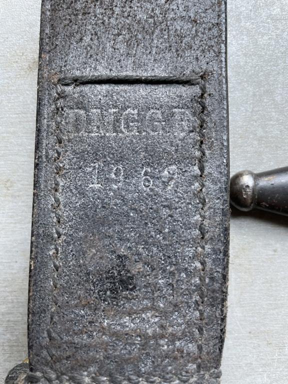 Identification porte fourreau de baïonnette 163