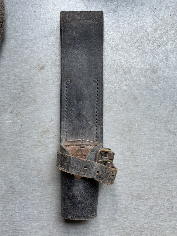 Identification porte fourreau de baïonnette 257
