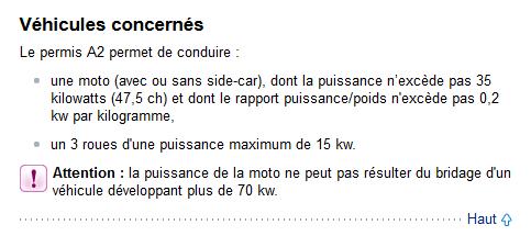 Réforme du permis A2 Captur10