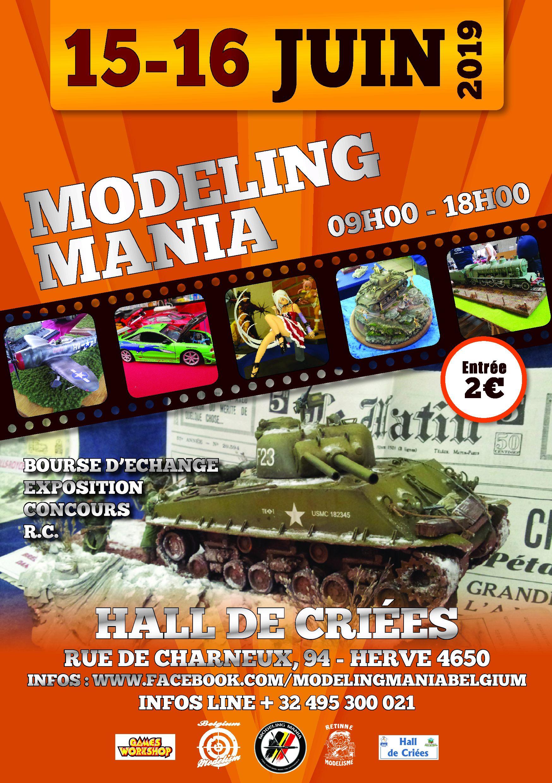 MODELING MANIA 15-16 JUIN 2019 Flyers10