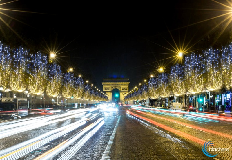 Paris, illuminations festives 2014 Blache11