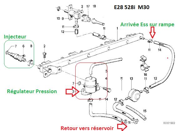 [ BMW E28 528i M30 an 1986 ] A coups moteur, pas possible de dépasser 3000 trs/min (résolu) 13_e2810