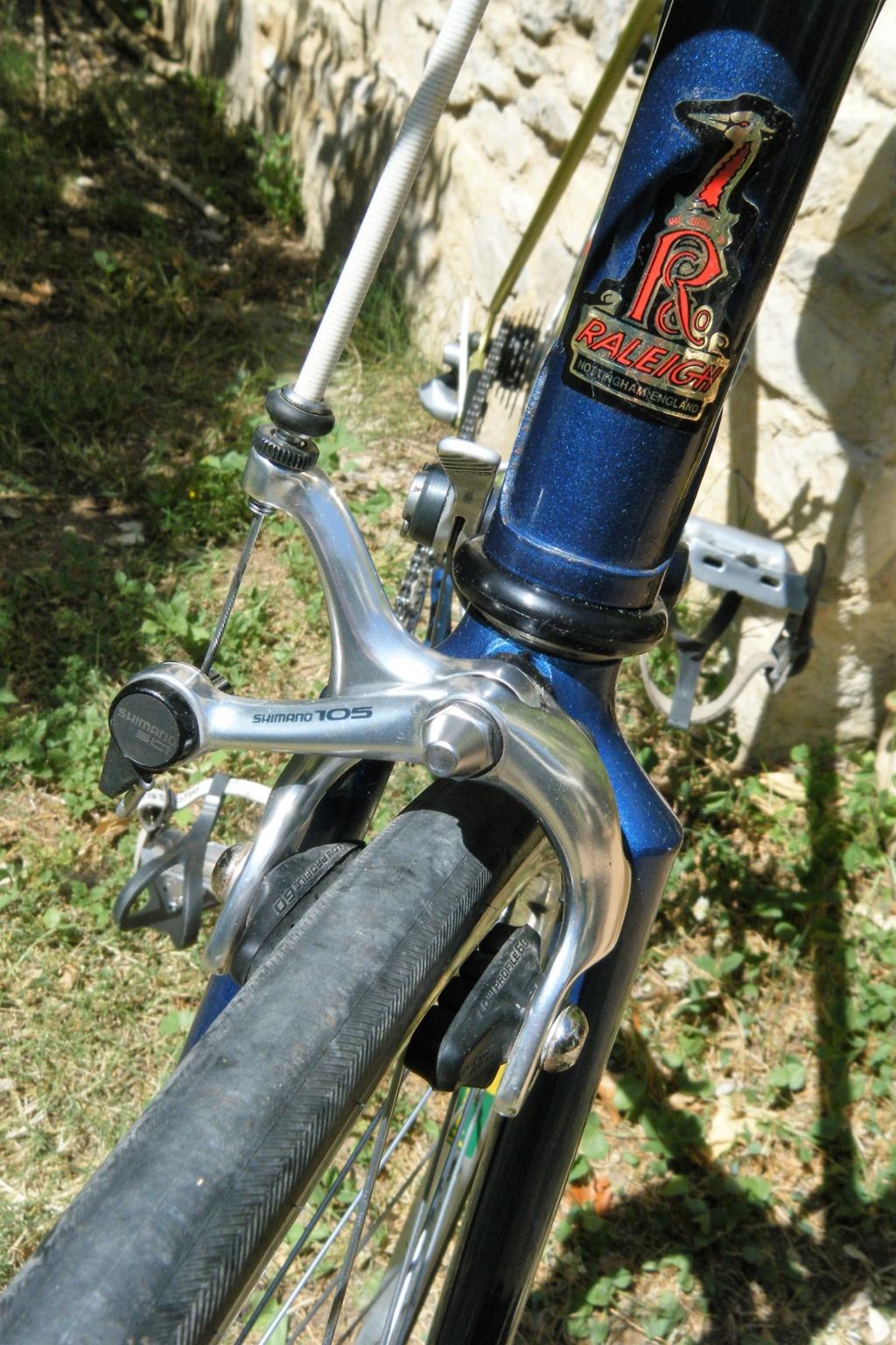 raleigh GIRO reynolds 501 3 tubes 1987 shimano 105 Dscf0027